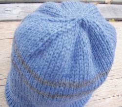 One warm-a** double knit ski cap