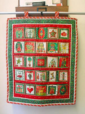 Advent Calendar Pattern Sewing